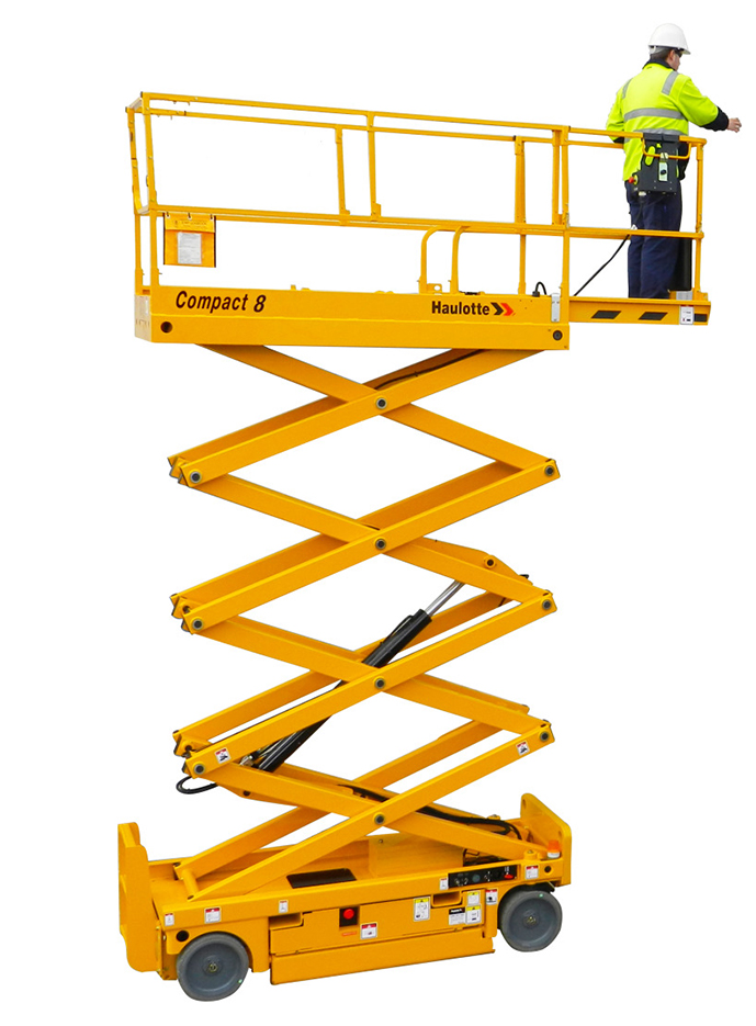 Scissor lift electric