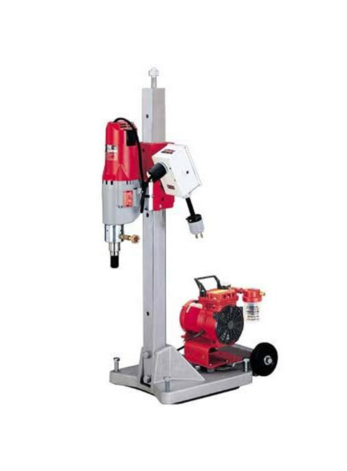 Sacabocados Milwaukee Diamond Core Drill w/ base stand